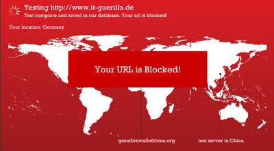 it-guerilla in China geblockt