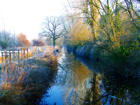 Oldenburg im Winter